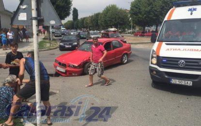 Călărași/Accident la intersecția străzii Prel.București cu Zăvoiului