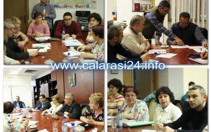 La Consiliul Județean se muncește și în week-end/Întâlnire de lucru cu directorii instituțiilor subordonate