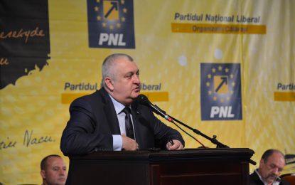 Daniel Ștefan Drăgulin, noul președinte al Organizației Județene a PNL Călărași