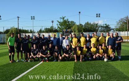 Meciul meciurilor la Călărași/Primăria Călărași versus Consiliul Județean FOTO