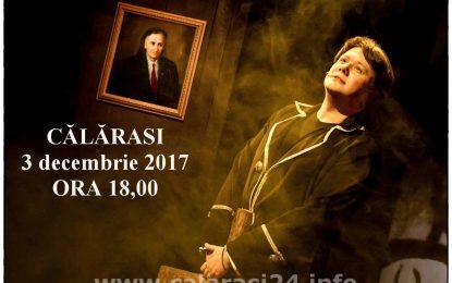 Fuego vine la Călărași/Spectacol în memoria marelui poet Grigore Vieru, susținut duminică 3 decembrie