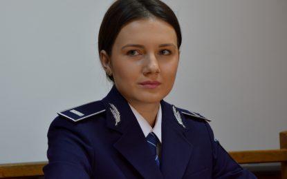 Bianca Mihaela Ghiveci, noul purtător de cuvânt al IPJ Călărași