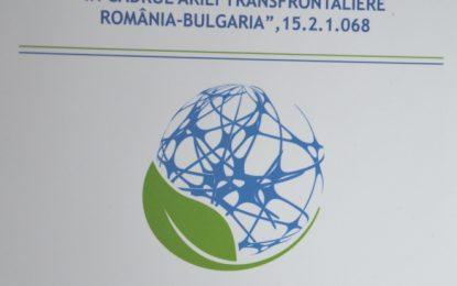 """Conferința finală a proiectului """"Dezvoltarea şi promovarea unui produs turistic de patrimoniu natural comun: Ruta """"Patrimoniul natural protejat în cadrul ariei transfrontaliere România-Bulgaria"""""""