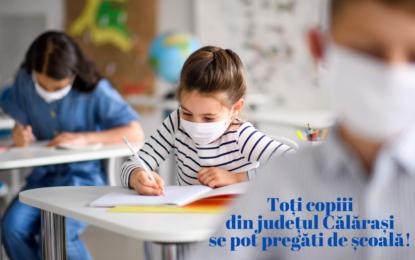 """Deputat Emil-Florian Dumitru: """"JUDEȚUL CĂLĂRAȘI, ÎN SCENARIUL VERDE! Copiii se pot pregăti de școală!"""""""