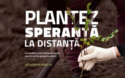 """""""Adoptă un copac!"""" lansează ediția de primăvară a campaniei """"Plantare Virtuală – Plantăm speranță la distanță"""""""