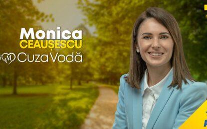 """MONICA SILVIA CEAUȘESCU: """"Comuna Cuza Vodă va rămâne a oamenilor cinstiți și gospodari"""""""