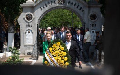 Organizația județeană PNL Călărași a adus un omagiu eroilor neamului românesc
