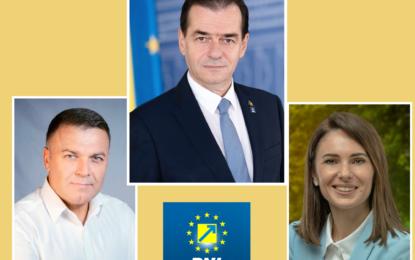 Ludovic Orban, președintele PNL, prezent miercuri la Călărași