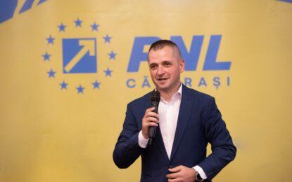 Ciprian Pandea, ales președinte al Organizației Județene PNL Călărași